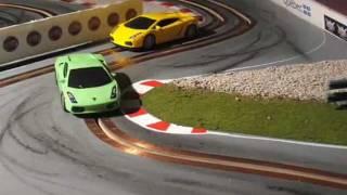 Custom Slot Car Racing - Lamborghini 1/43
