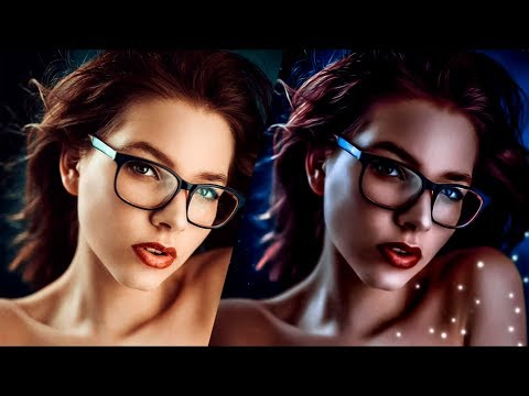 Видеоурок: Арт ретушь фото | Art Retouch (Photoshop, Camera Raw)