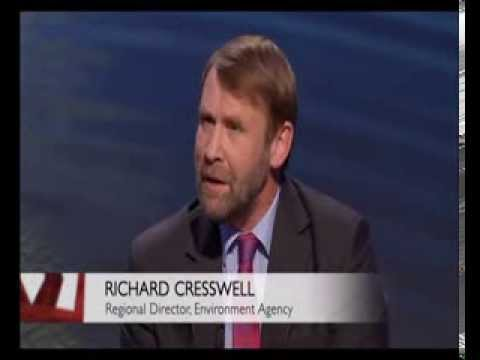 BBC West: Somerset Levels Flooding Discussion in Bridgwater