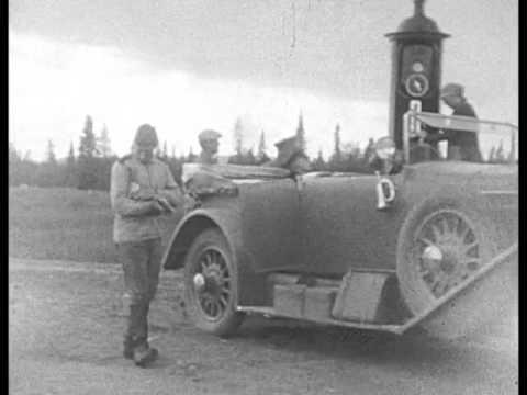 Stockholm Haparanda Virtaniemi Helsingfors 1926