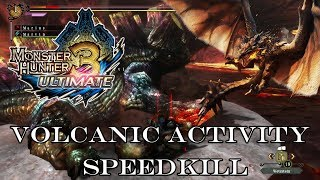 『MH3U | MH3G』[G-Rank★★] Volcanic Activity (Speedkill/Hammer & Dual Sword) 1:52