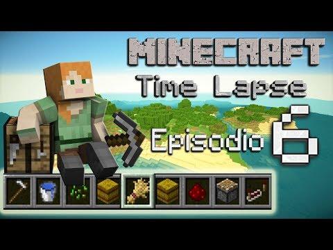 Minecraft Survival 1.12 - Time Lapse - La isla - Episodio 6: Granja automática de cultivos