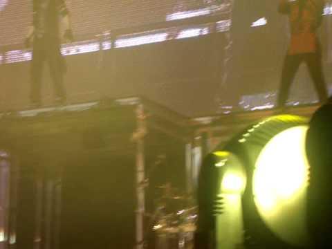 Justin Bieber NEVER SAY NEVER Newcastle Metro Radio Arena SECOND ROW