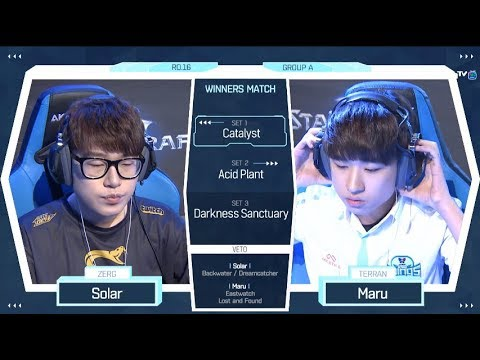 [2018 GSL Season 2] Code S Ro.16 Group A Match3 Maru vs Sola