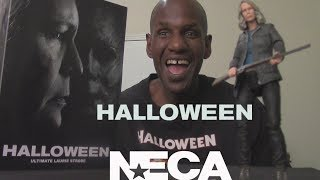 NECA Halloween (2018) Ultimate Laurie Strode 7'' Figure Review