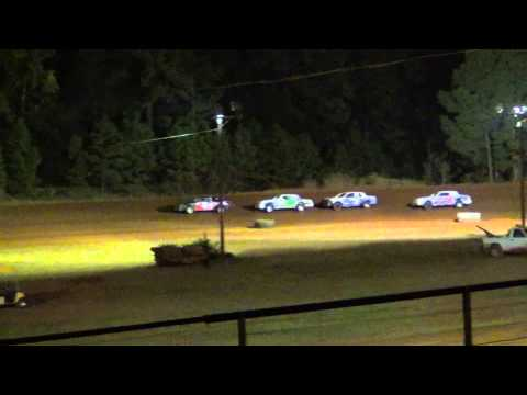 Sabine Motor Speedway Heat Race 9/27/14