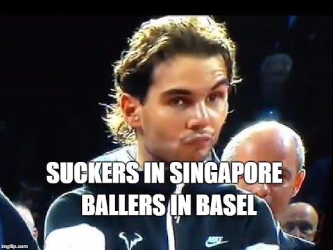 RealzTenisFanz Podcast #32: Suckers in Singapore; Ballers in Basel