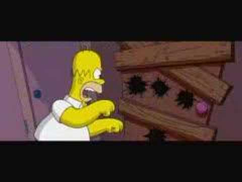 """Download Simpsons clip 2 """"Chainsaw Gang"""""""