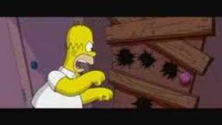 "Simpsons clip 2 ""Chainsaw Gang"""
