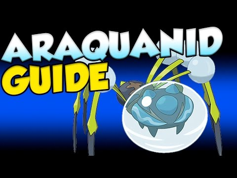 ARAQUANID IS GOD TIER! Pokemon Sun and Moon Araquanid Moveset and Guide