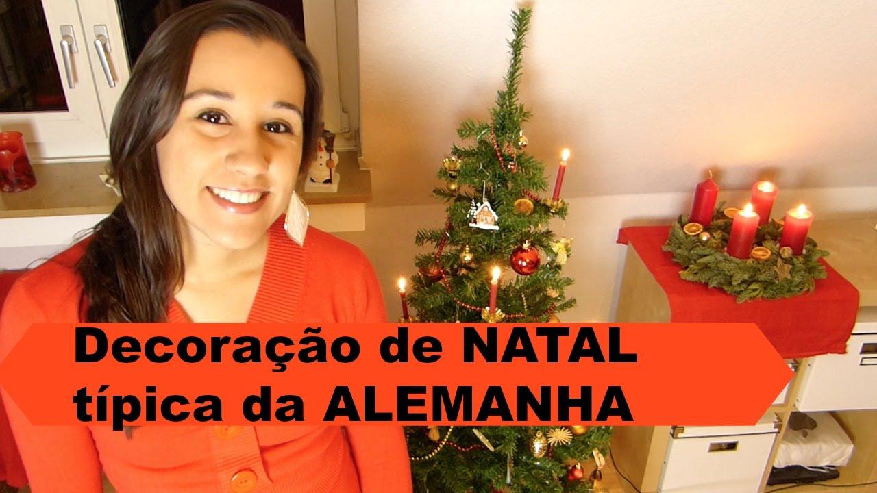 decoracao de arvore de natal tradicional:Decoração de Natal típica da Alemanha – YouTube