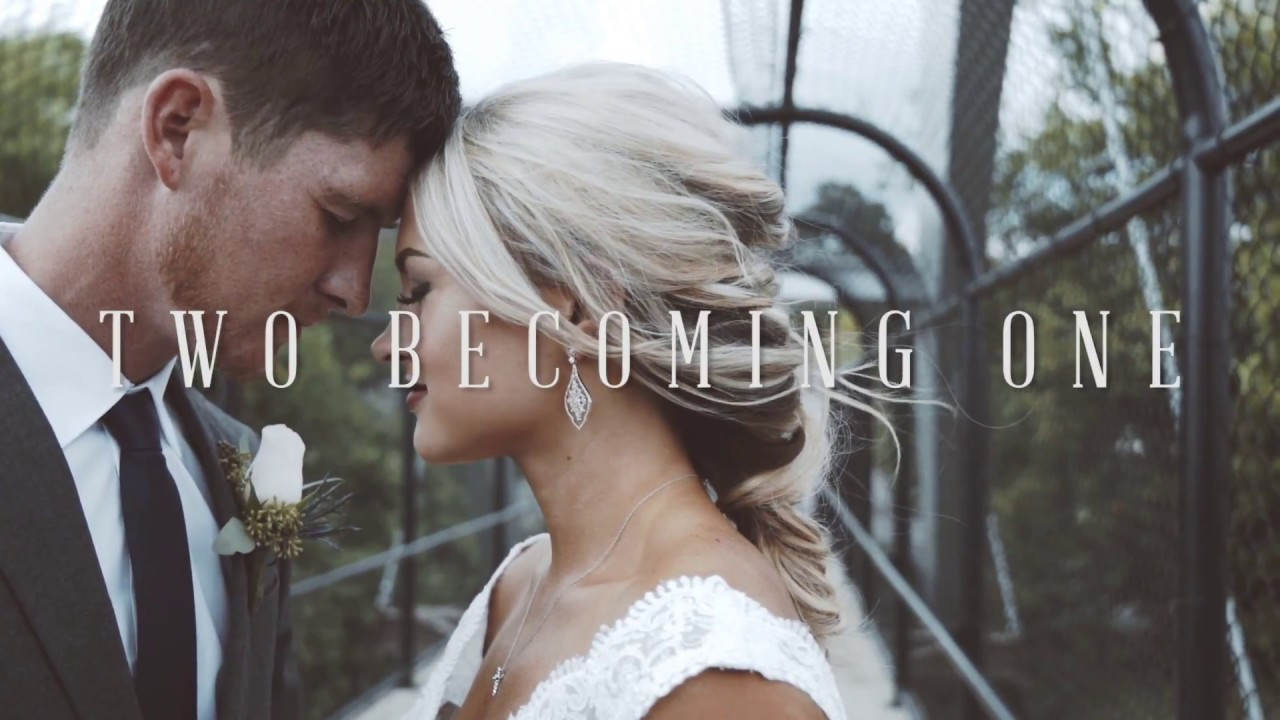 Two Becoming One Christian Wedding Song Youtube