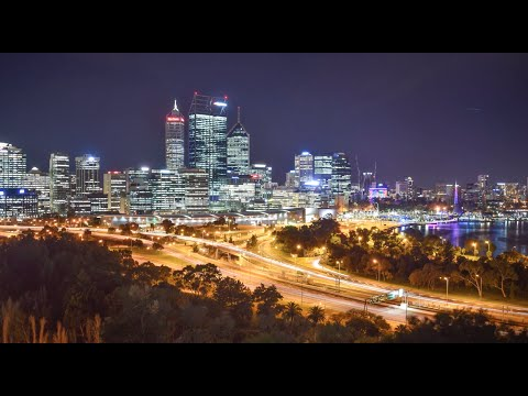 PERTH, AUSTRALIA TIME LAPSE (2016)