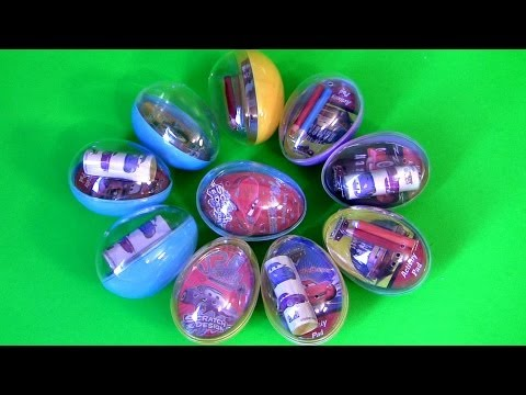 Disney Cars Easter Egg Surprise The World of Cars 10 Activity Set From Pixar toys ultimate review