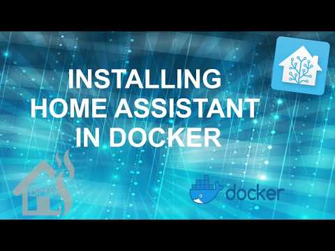 Installing Home Assistant in Docker! - YouTube