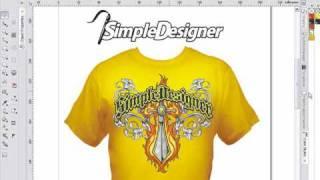Simple Designer CorelDRAW Design System Video Demo