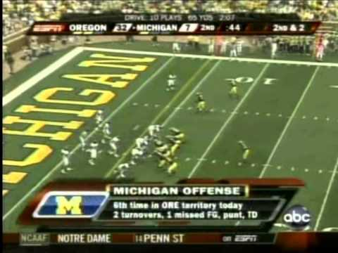 Oregon vs Michigan 2007 (Full Game)