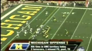 Oregon vs Michigan 2007 (Full Game)
