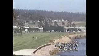 US Open 2000   Pebble Beach - Happy Father