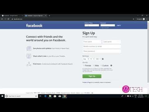 Facebook Login: Facebook Sign In With Username And Password 2019 | Facebook.com Login