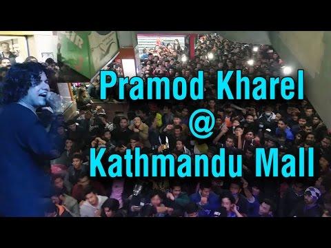 Hey Maya    Pramod Kharel    Live Performance @ Kathmandu mall