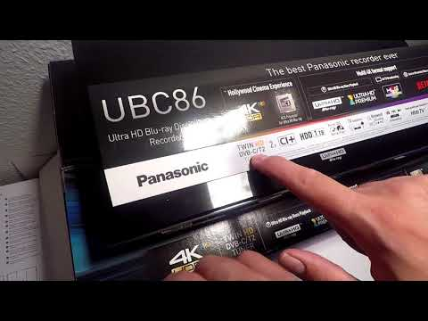 Panasonic DMR UBC86 videogennemgang
