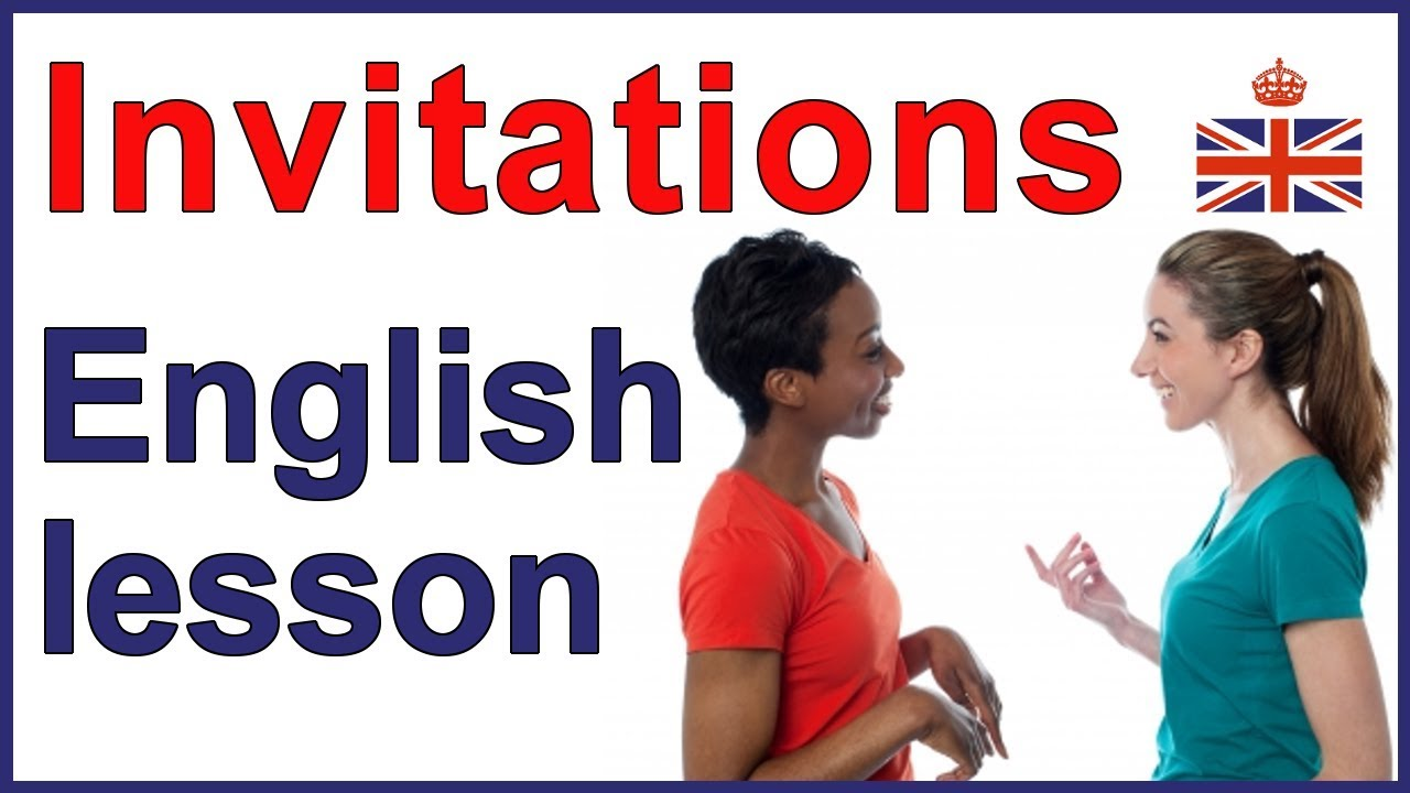 5 ways to give an invitation english lesson youtube 5 ways to give an invitation english lesson stopboris Image collections