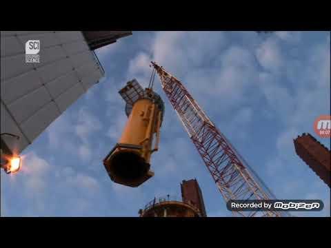 how wind mills are setup in ocean    civil engineering in ocean
