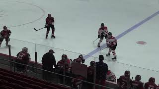 07 Coyotes vs Hingham 4 of 4 on 1980 Olympic rink