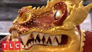 Creating a Chinese Dragon Cake | Cake Boss