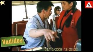 Драки в общественном транспорте 1 часть.Fighting in public transport part 1.