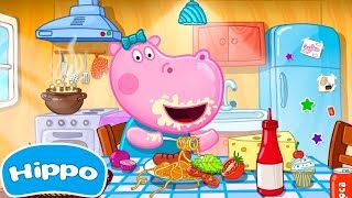 Hippo ???? Cafe manager ???? Funny kitchen ???? Cartoon Game Review