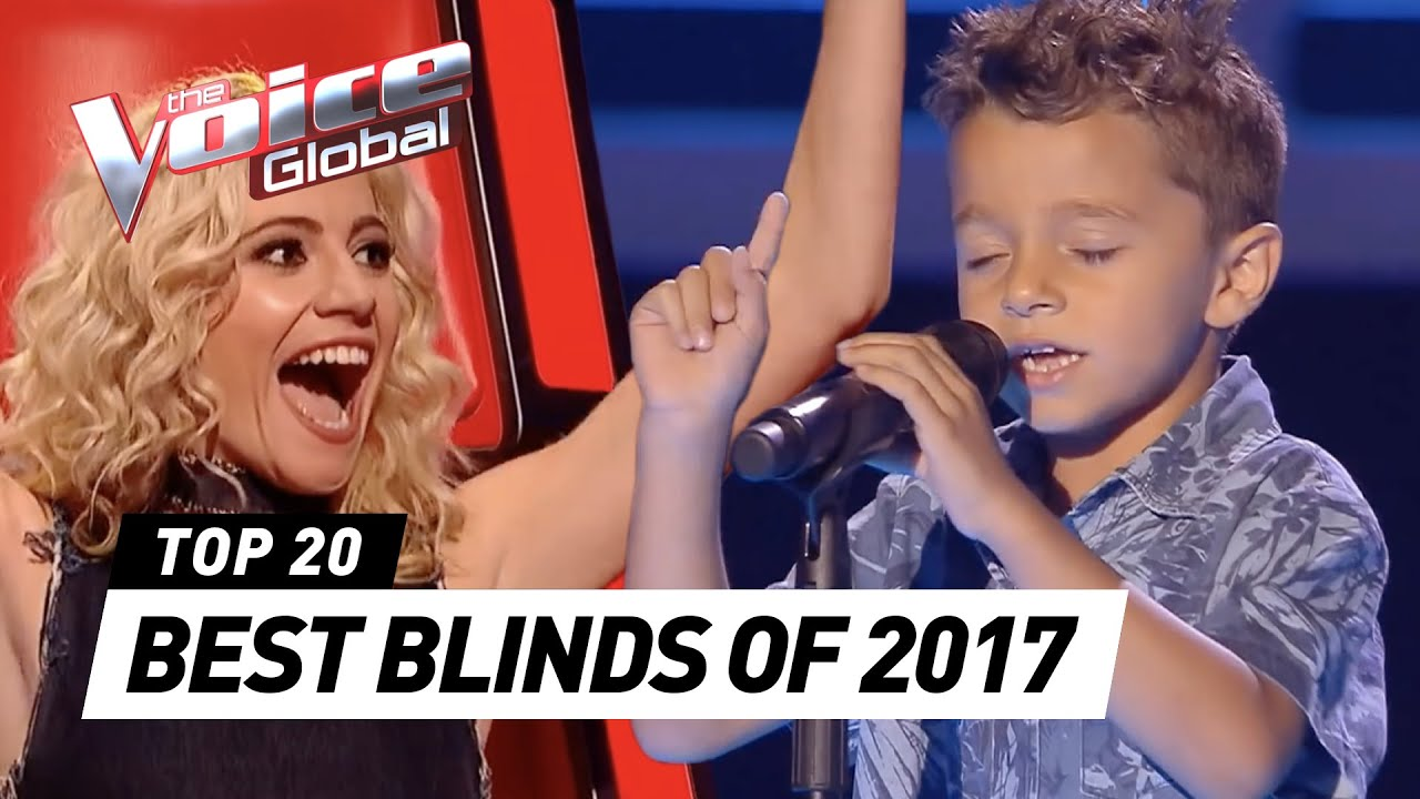 Best Blind Auditions Of 2017 The Voice Kids Rewind Youtube