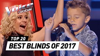 BEST BLIND AUDITIONS OF 2017 | The Voice Kids Rewind