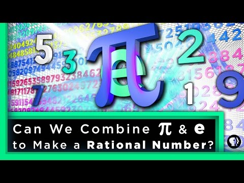 Can We Combine pi & e to Make a Rational Number? | Infinite Series