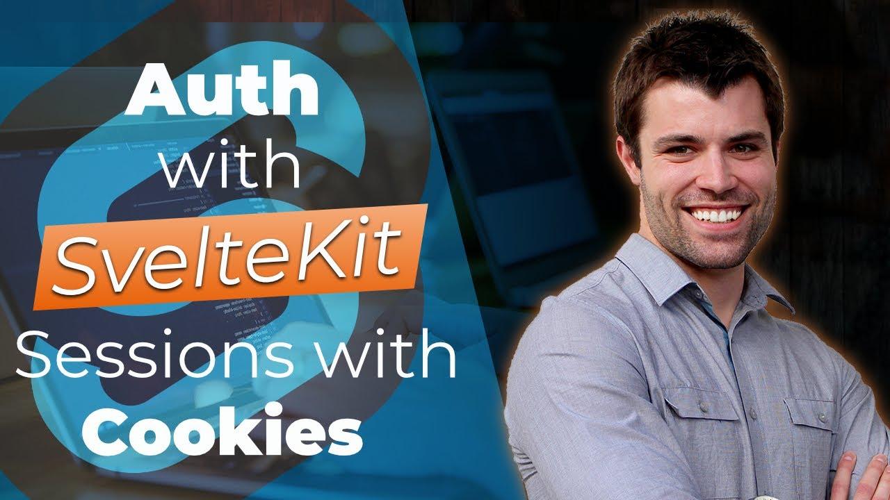 SvelteKit Session Authentication Using Cookies