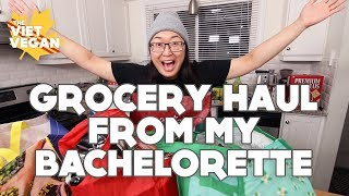$240 VEGAN GROCERY HAUL FOR MY BACHELORETTE
