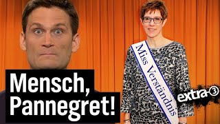 AKK – unbeliebteste Parteichefin aus dem Saarland