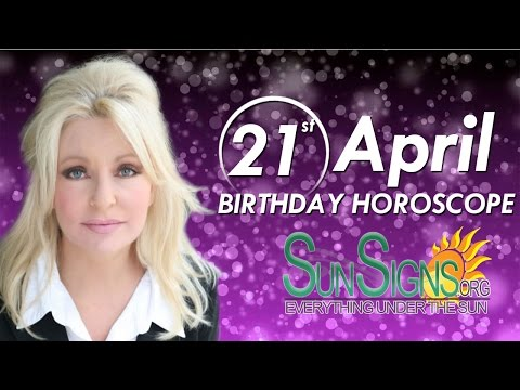Birthday April 21st Horoscope Personality Zodiac Sign Taurus Astrology