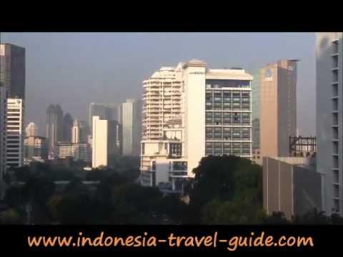Kawasan Sudirman Jakarta dilihat dari Gedung Chase Plasa