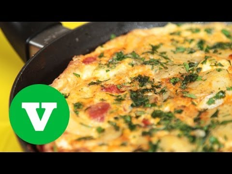 Spanish Chorizo Omelette | Good Food Good Times World Cup 2014 Special S02E6/8