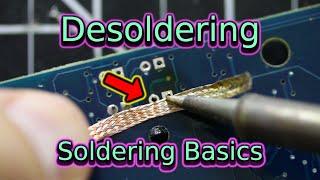 Desoldering | Soldering Basics