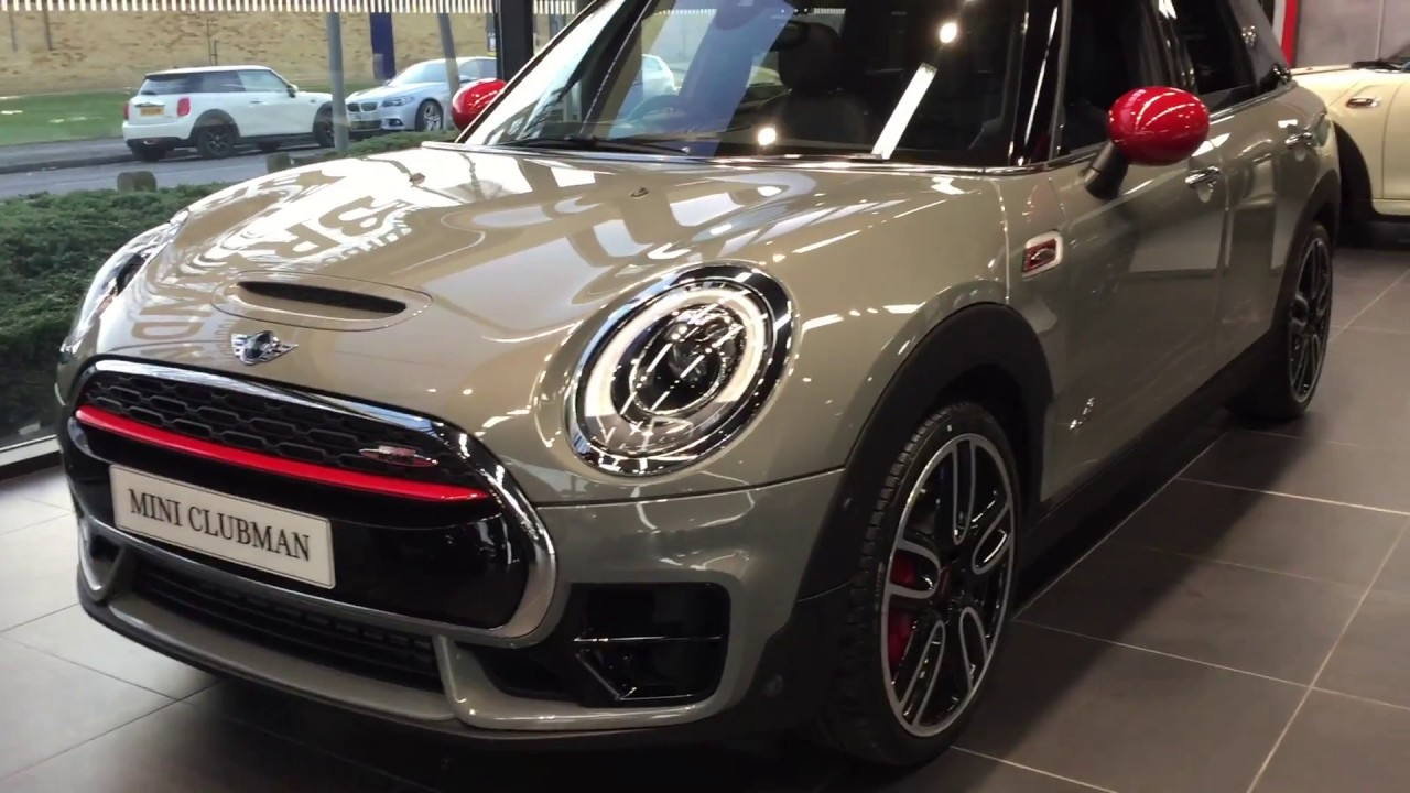 2017 Mini Clubman Cooper S John Cooper Works Exterior And Interior