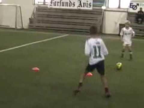 Farsund - Fotballøvelser G11 2013 (uten musikk)
