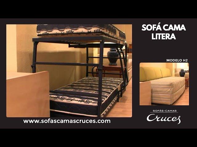Sofá Cama Litera Con Dos Camas De 80 ó 90 Sofas Cama Cruces