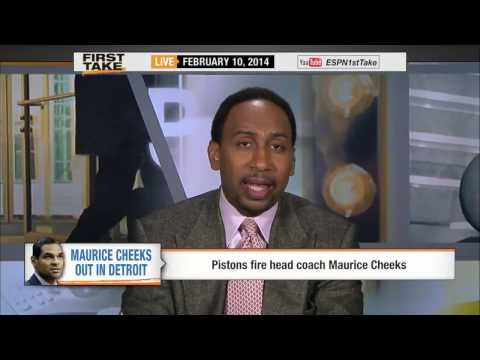 ESPN First Take - Detroit Pistons fire Mo Cheeks