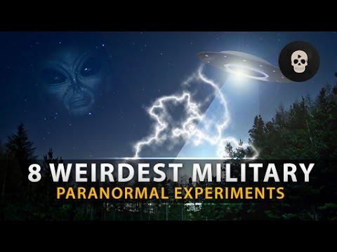 8 Weirdest Military Paranormal Experiments