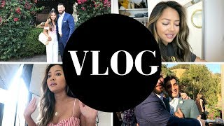 VLOG: A Wedding, Events, Planning Instagram Pics and more!!