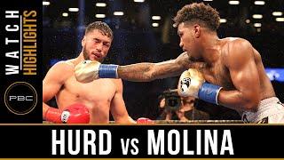 Hurd vs Molina HIGHLIGHTS: July 25, 2016 - PBC on CBS