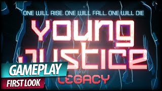 Young Justice Legacy Gameplay First Look - DC Comics TV Show Superhero Game (Commentary)